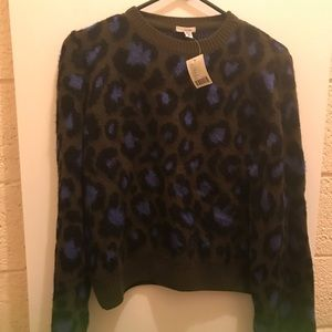 Urban outfitters ecote cheetah sweater small